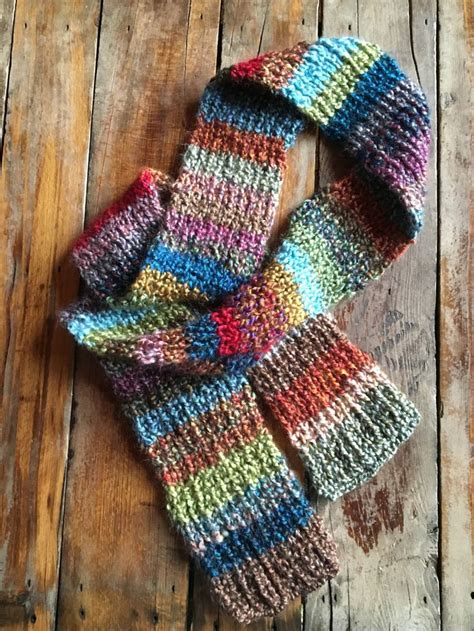 homespun yarn scarf pattern knit 17 best images about scarves on chevron