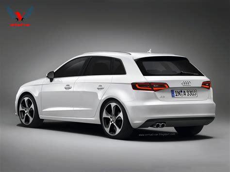 Audi A3 Sport Back by 2013 Audi A3 Sportback Rendering Autoevolution