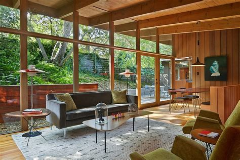 mid century design mid century modern renovation by koch architects homeadore