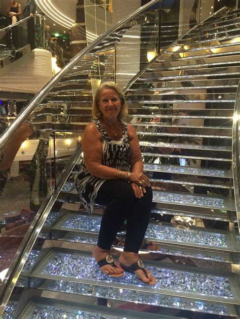 Beautiful Stairs ship on msc divina cruise ship cruise critic