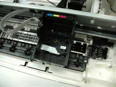 reset manual t13x how to remove print head epson me320 part1 youtube