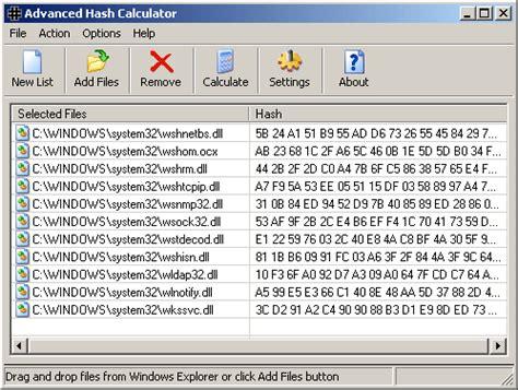 calculator hash advanced hash calculator v2 42 shareware download