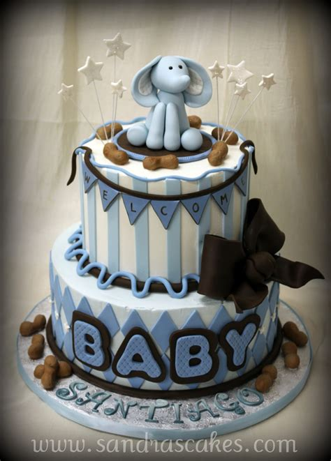 Baby Baby Shower Cakes by On Birthday Cakes Baby Shower Cakes