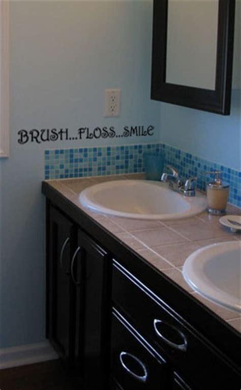 brush floss smile