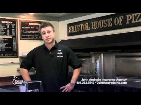 bristol house of pizza may 11 john andrade insurance trusted choice ad w bristol house of pizza youtube