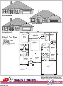 Side Split Floor Plans adams homes opens new baldwin county community adams homes