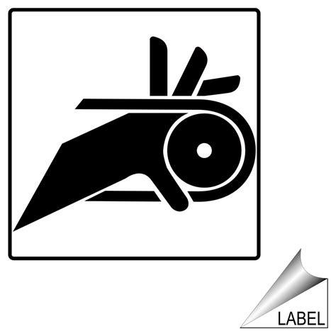 entanglement hazard finger symbol label label sym 22 a