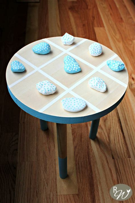 tic tac toe table diy tic tac toe for your children