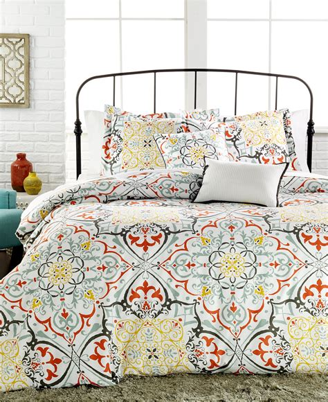 macy s baby bedding yasani 5 pc reversible full queen comforter set bedding