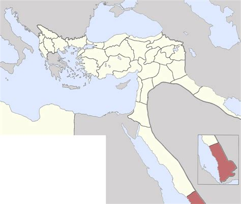 what was the capital of the ottoman empire yemen vilayet