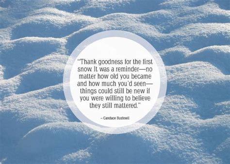 famous quotes about snow quotesgram