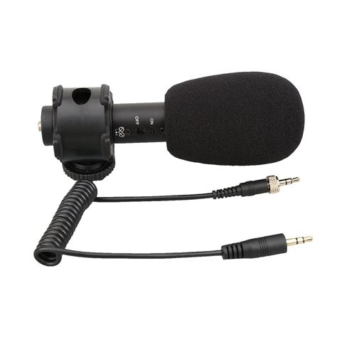 boya stereo microphone by pvm50