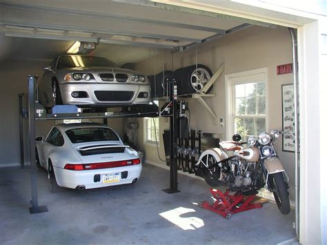 Stacked Garage by Garage Lifts For Stacked Parking Rennlist Discussion Forums