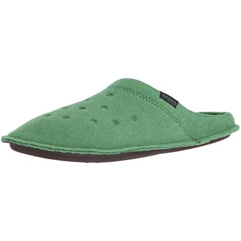 crocs house shoes crocs 9840 mens classic textured lined slide mule slippers shoes bhfo ebay