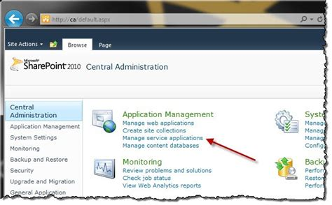 service application granting permissions to the user profile service application