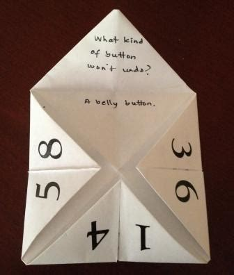 what to write in a paper fortune teller create an origami fortune teller everywhere