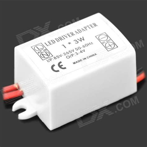 Driver Led 3w 700ma 3w power constant current source led driver 100 240v free shipping dealextreme