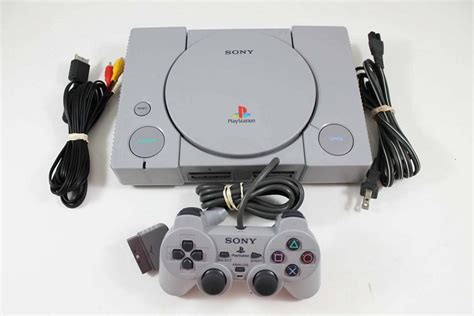 ps1 console original playstation system console