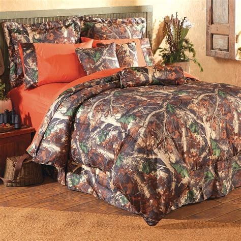 Realtree Shower Curtain - camo bedding oak camo bedding collection camo trading