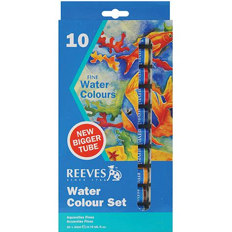 reeves watercolor paint 10pk walmart