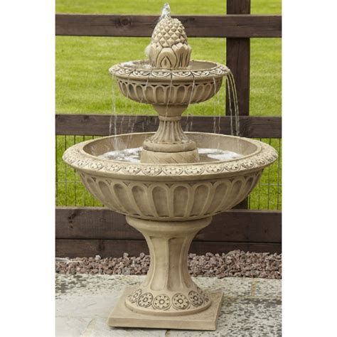 tier pineapple style water fountain