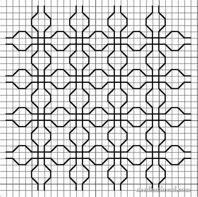 pattern line work blackwork design development variations on a theme