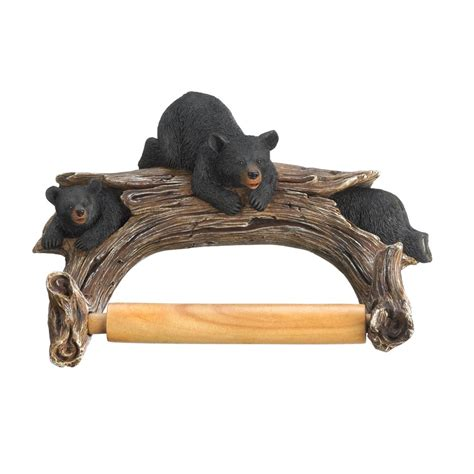 black bear home decor black bear toilet paper holder wholesale at koehler home decor