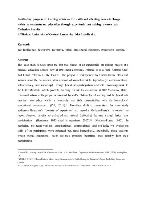 thesis abstract journal exle abstract submission journal article shevlin c 2014