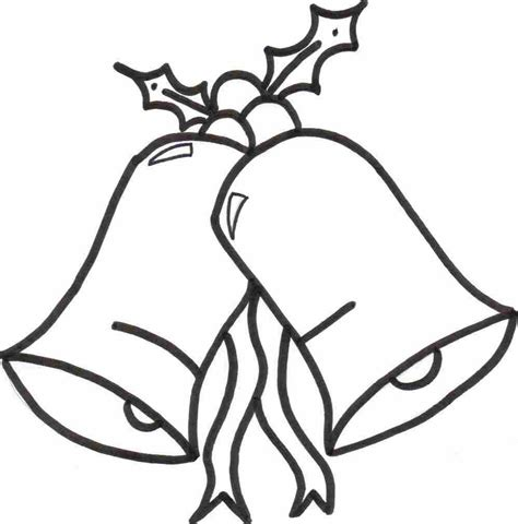 christmas bells coloring sheet