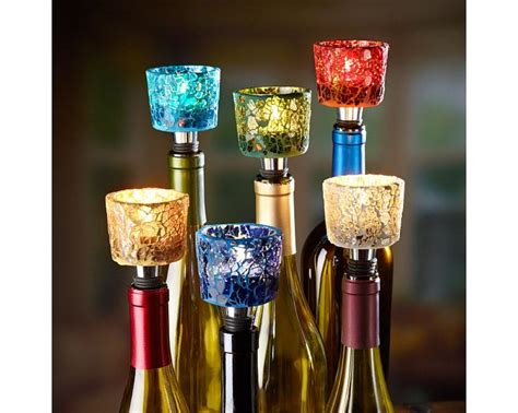 light up wine bottle stoppers 123 best wine bottle stoppers images on