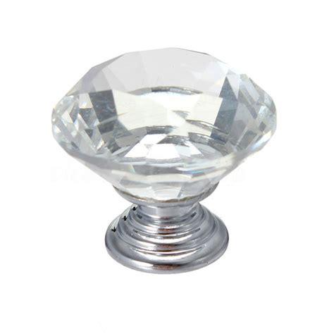 Glass Wardrobe Knobs 1 5 10 12x glass cupboard wardrobe cabinet door drawer knobs handle ebay