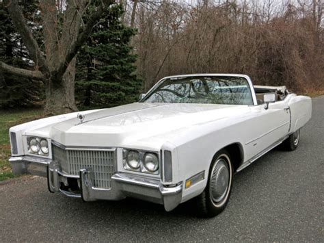 1971 Cadillac Eldorado Convertible For Sale by 1971 Cadillac Eldorado Convertible Runs Great One Owner