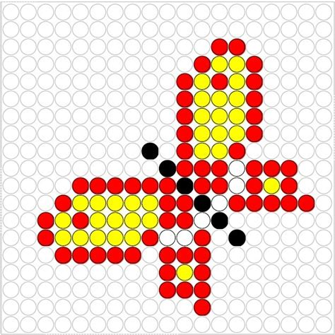 perler butterfly butterfly perler bead pattern perler patterns