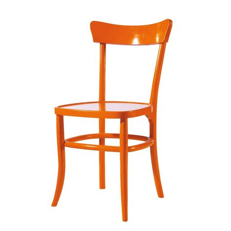 Stuhl Orange by Stuhl Orange Bistrot Bistrot Maisons Du Monde