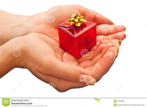 christmas gift giving royalty free stock photo image