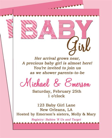 Sle Baby Shower Invitations Sayings by Baby Shower Baby Shower Invitation Wording Card