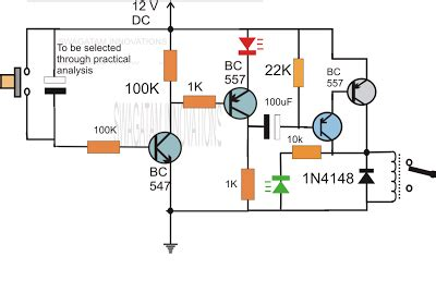 simple delay timer circuits explained homemade circuit