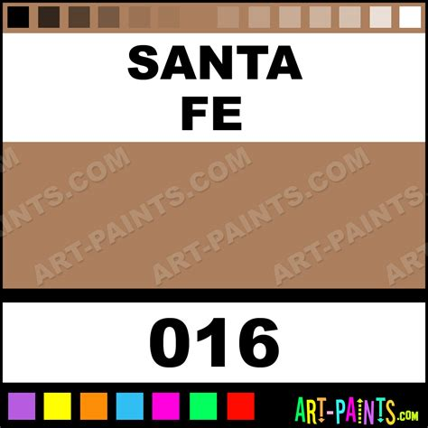 santa fe pearlescent shimmer metal and metallic paints