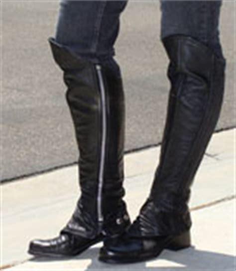 motocross half boots half chaps baddasschaps com