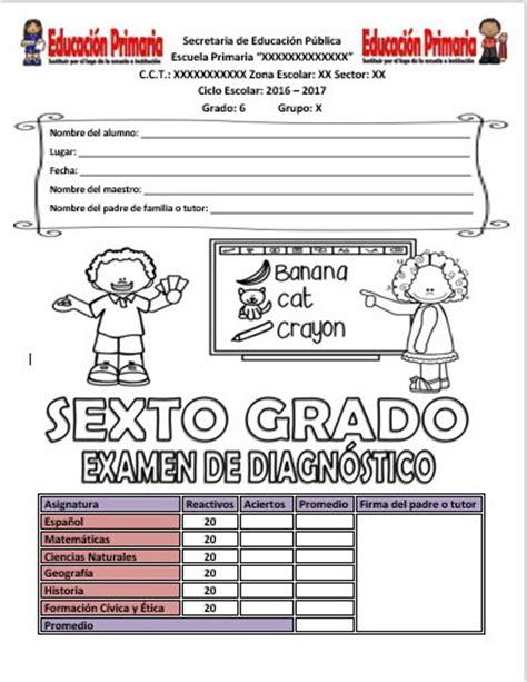 preguntas abiertas de matematicas sexto grado examen de diagn 243 stico para el sexto grado del ciclo