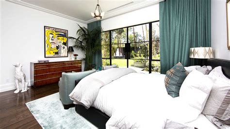 Turquoise Bedroom Feng Shui Comfortable Master Bedroom Decor With Turquoise Curtains