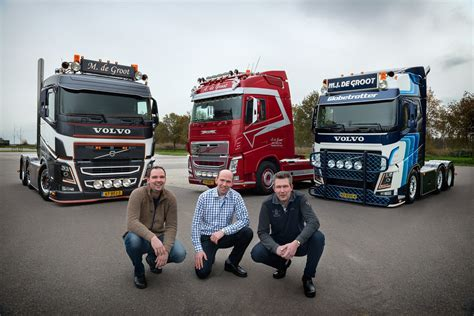 volvo trucks na trzech braci trzy volva fh i trzy pomysły na ich tuning