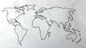 World Map Drawing by World Map Globe Drawing Www Bleublonde Com Art