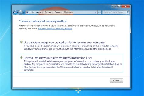 how to restore your windows pc to factory settings