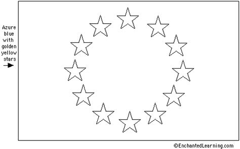 eu european union flag quiz printout enchantedlearning com
