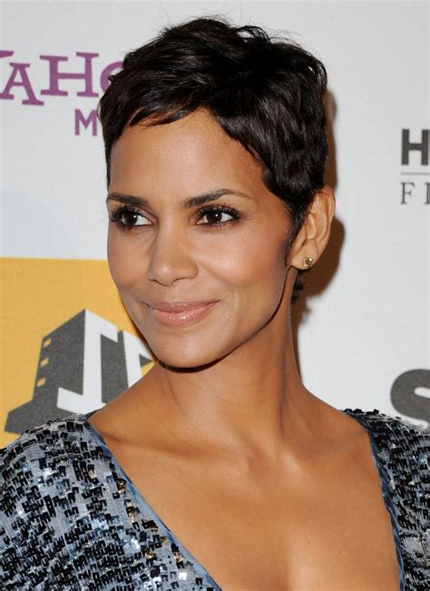 razor cut hairstyle in south africa excellence hairstyles gallery best 25 halle berry pixie ideas on pinterest