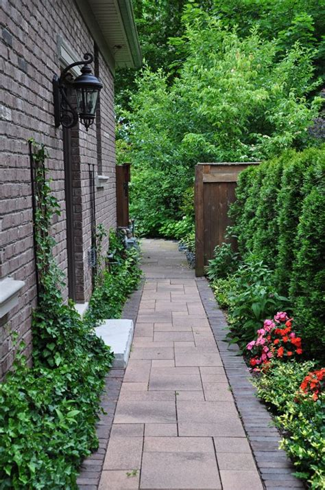 side yard ideas design bari more narrow side yard landscaping ideas