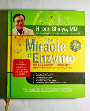 The Miracle Of Enzym Dr Hiromi Shinya Diskon jual beli the miracle of enzyme hiromi shinya md