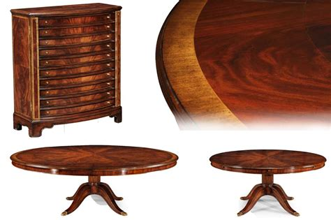 large round dining table seats 12 extra large round mahogany perimeter table and buffet