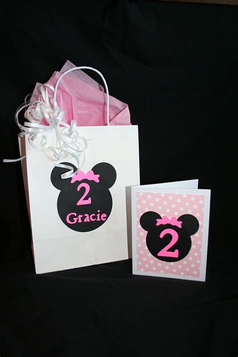 minnie mouse gift bags eventos